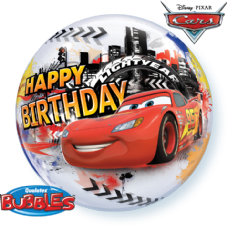 Disney Cars Lightening McQueen Birthday Bubble Balloon
